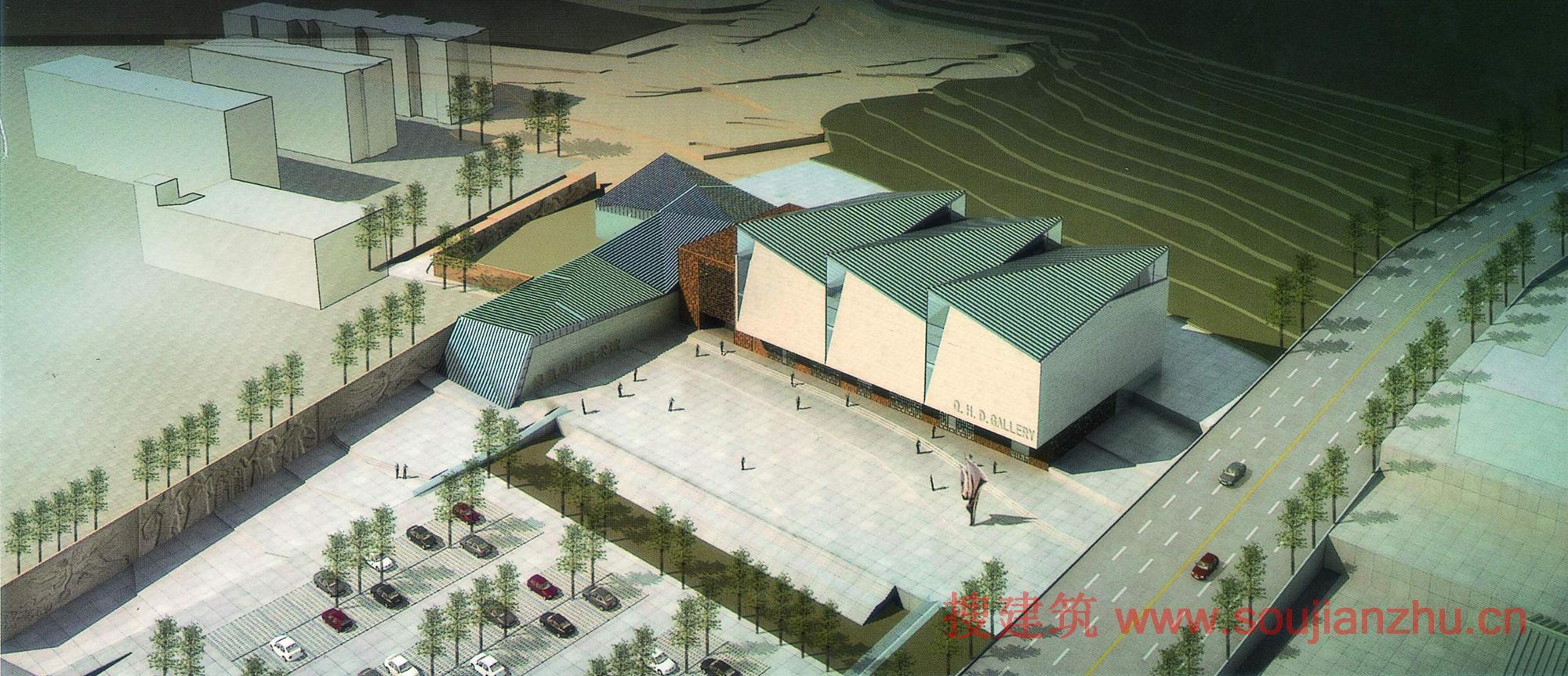 秦皇岛·美术馆方案 搜建筑网公共建筑设计资料中心