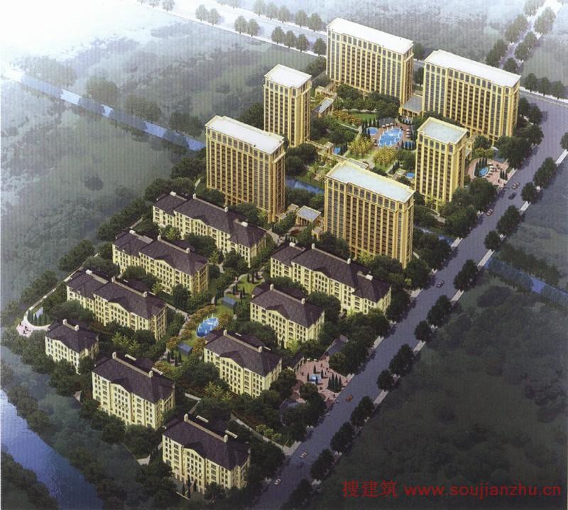 上海·绿城玉兰花园 搜建筑网楼盘设计资料中心