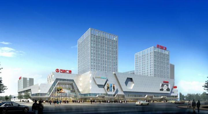 【商业综合体】大型商业综合体外立面设计