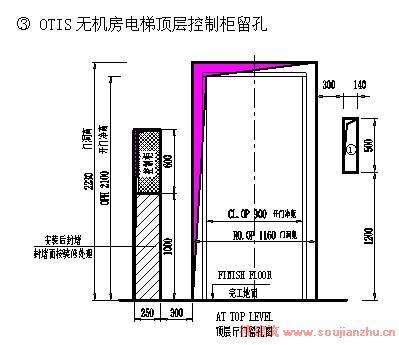 三菱无机房乘客电梯):                                 注:三菱电梯
