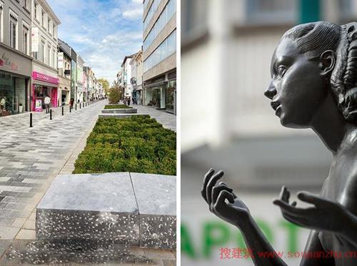 步行商业街-景观设计要点