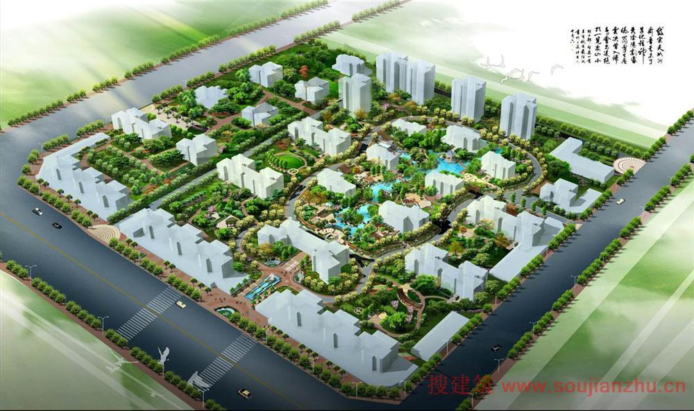 总体竖向设计平面,总体绿化设计平面,建筑小品的平,立,剖面(标注主要