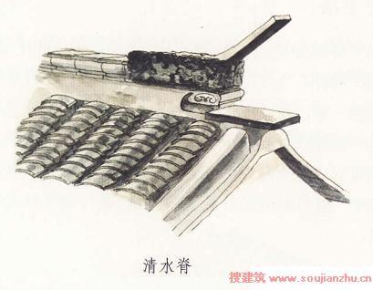 中国古建筑图解-屋顶