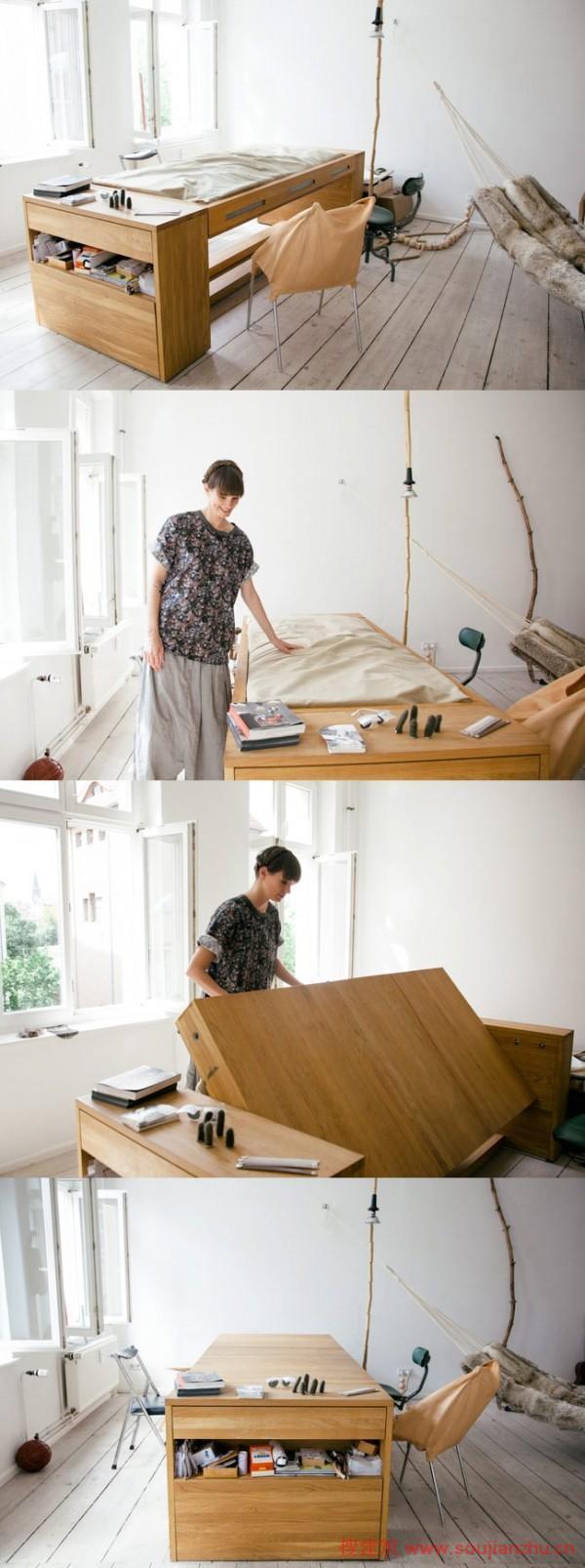 40例国外创意家庭办公桌设计