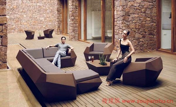 現代簡約戶外家具 極致設計體驗