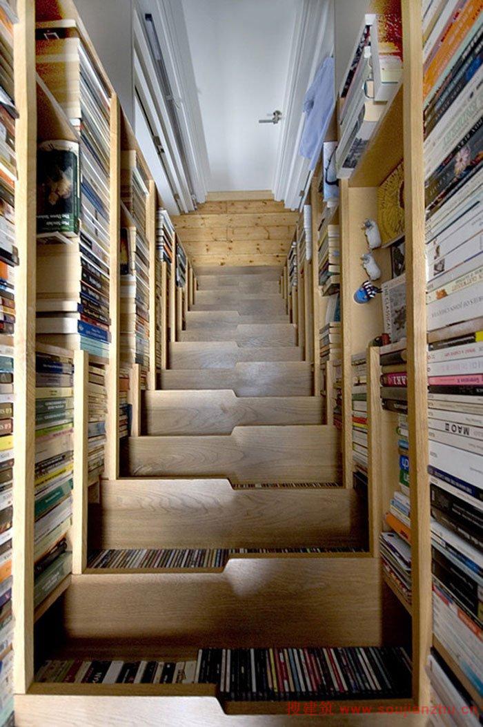 更影响房子的结构,所以室内楼梯讲求创意之余