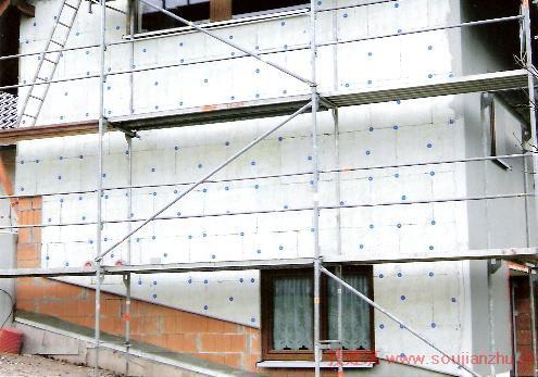 德国住宅外墙外保温施工做法