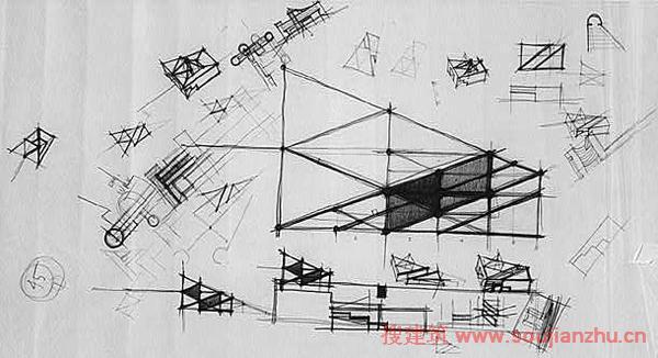 如何自学建筑设计,不敢妄自尊大,仅从个人求学及实践经历,分享自己关于建筑学入门的一点心得体会。 窃以为,有五个方面,是建筑设计入门最基础,最核心的环节。 1)思考:建立建筑设计逻辑思维方式,学会从建筑师的角度去思考建筑、空间与人的关系; 2)表达:掌握将思维具象化,向他人表达自己想法的基本技能,包括:制图,模型,口头陈述等; 3)数理:熟记若干基本的数据,融汇贯通,以应用于实际操作,例如:人体尺度,常用结构数据等; 4)调研:通过对实例的调研,学习前人的设计经验; 5)实操:从最简单的设定开始,尝试设计