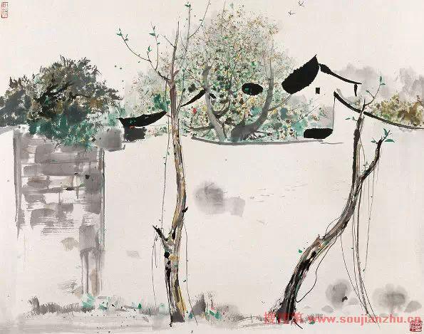 吴冠中国画-百幅代表作欣赏