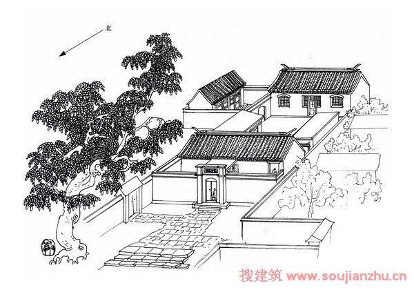 祁家的房子结构图
