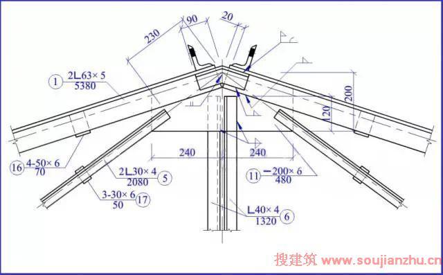 怎样一分钟看懂-钢结构图