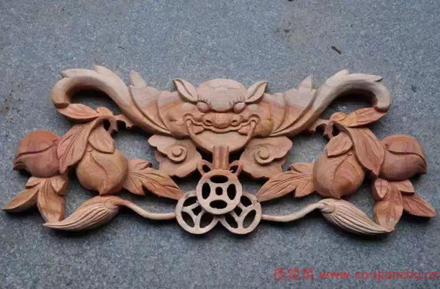 木雕半成品 岭南建筑传统工艺除了以上三种,还有砖雕,石雕