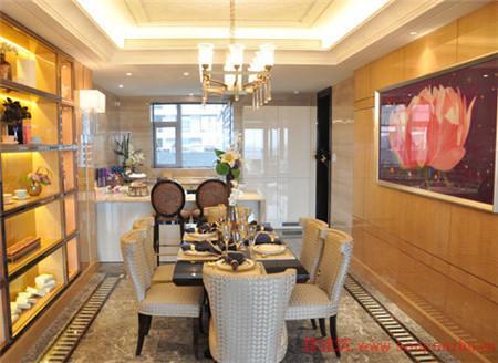 约268平样板房厨房与餐厅一览