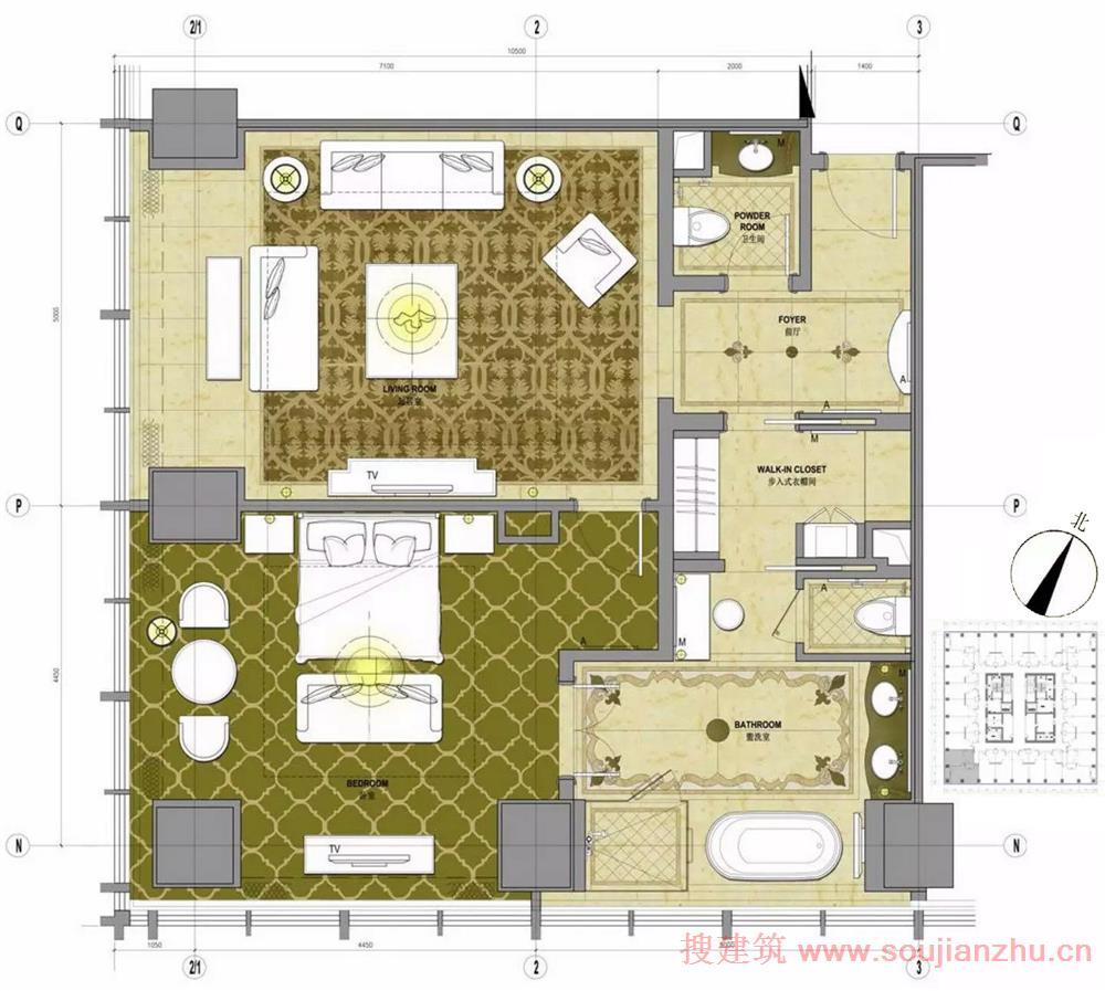 五星级酒店欧式建筑元素——象征着完美