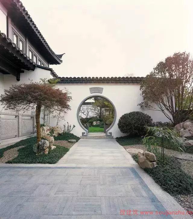 层的苏州园林式宅院 www.soujianzhu.cn 宽640x727高