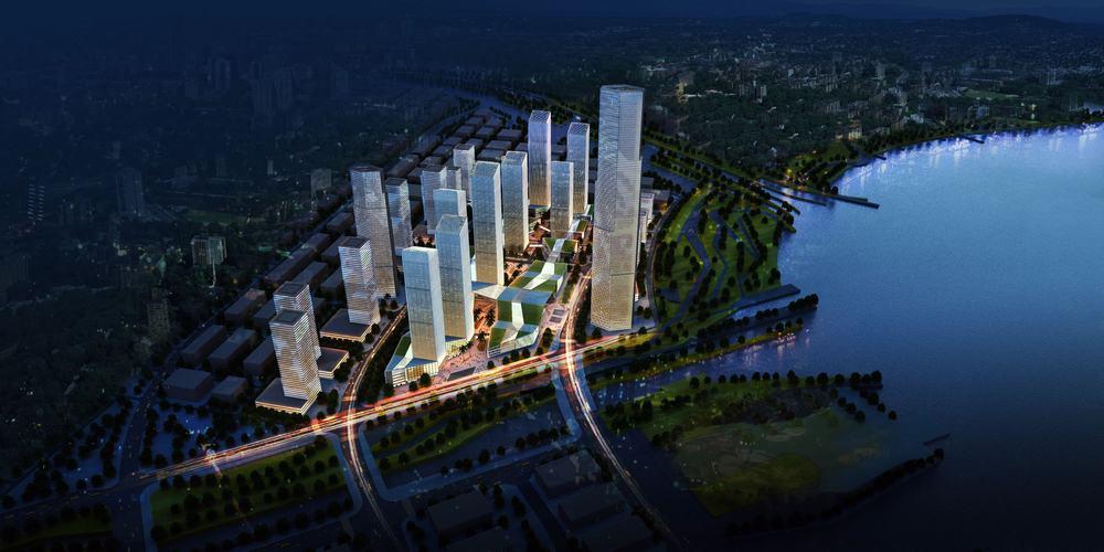 广东·深圳前海综合交通枢纽规划方案---gmp architekten图片