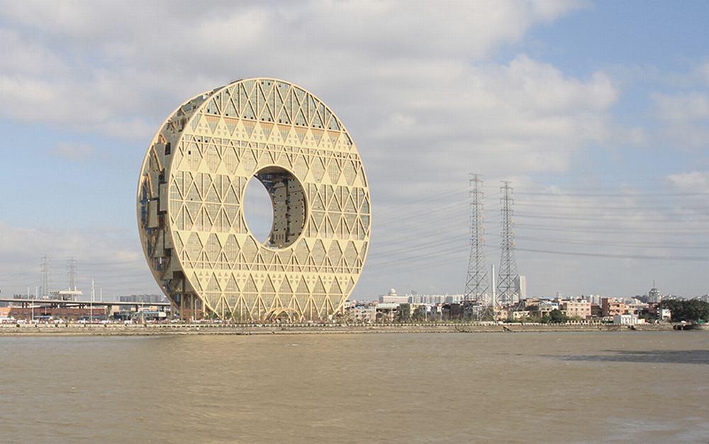 广东·广州圆大厦---joseph di pasquale architect
