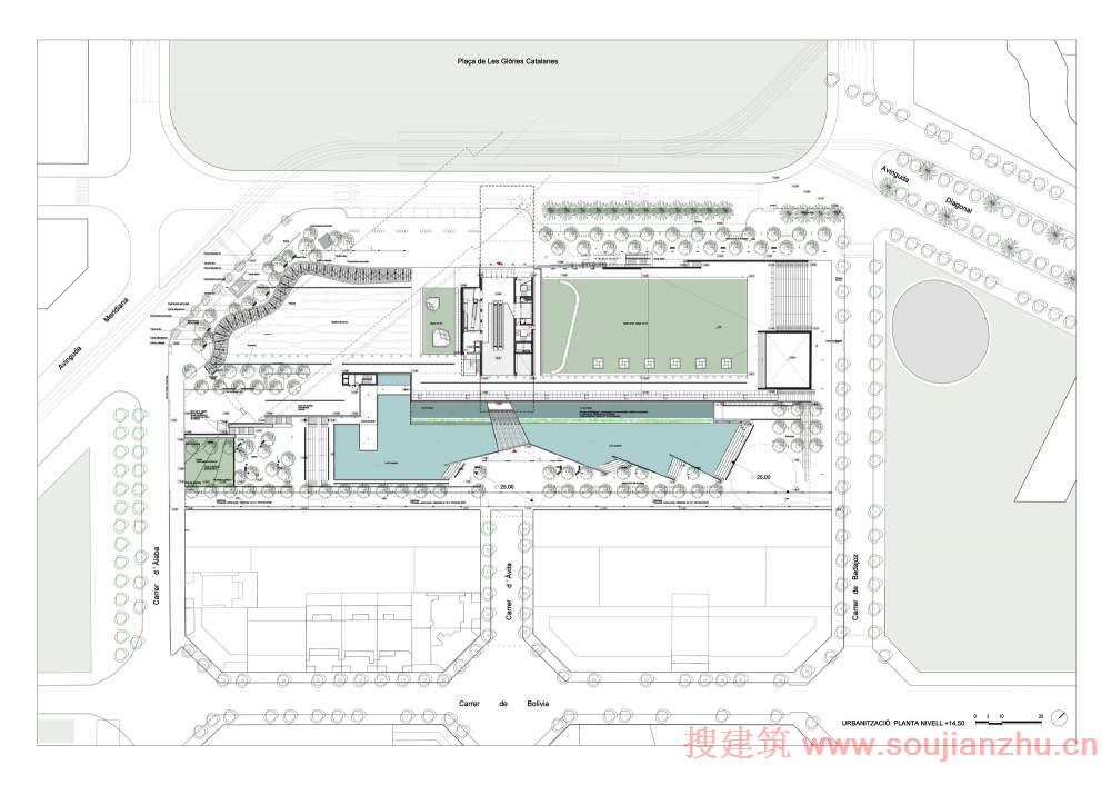 地铁站厅层设计图展示