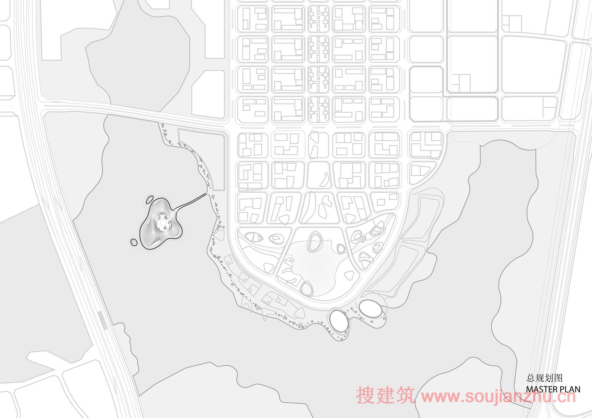 地图 简笔画 手绘 线稿 2000_1414