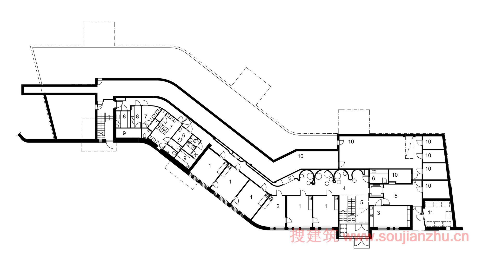 建筑的主体结构使用混凝土