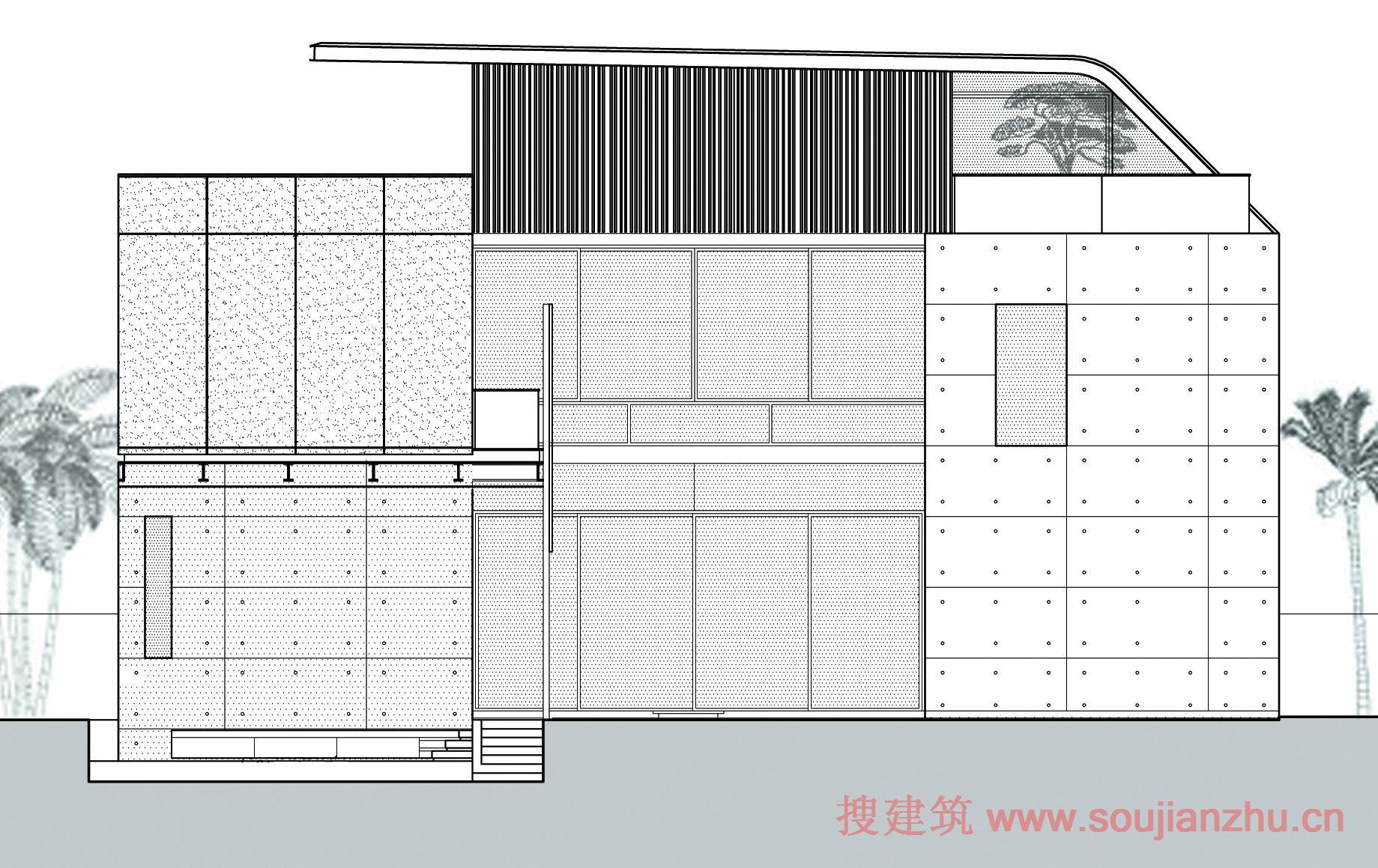 四合院房屋设计图平面图
