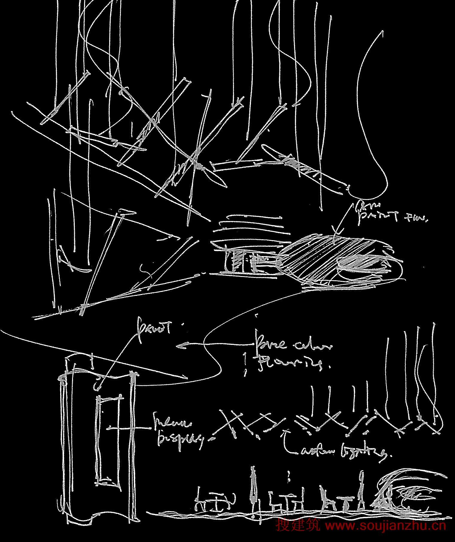建筑师:One Plus Partnership Limited 地点:深圳 面积:150平方米 该项目是由One Plus Partnership Limited设计的,位于深圳湾华侨城港主题公园,Aix Arome咖啡馆是游客们感受到与海洋的共存的一个地方。巨大的蛋形结构放置在空间中央,同时包含收银和咖啡供应两种功能,它是一个区域定义了属于自己的美丽。展台标志性的外观的灵感来自于颜色暗淡的咖啡豆,令人惊讶的是,这样的事情是成人的方式快乐的味道的来源,从而在展台灰度是这个惊人的口味的可视化。