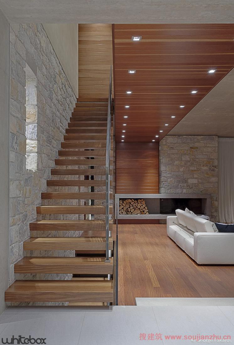 欧式石头楼梯大图