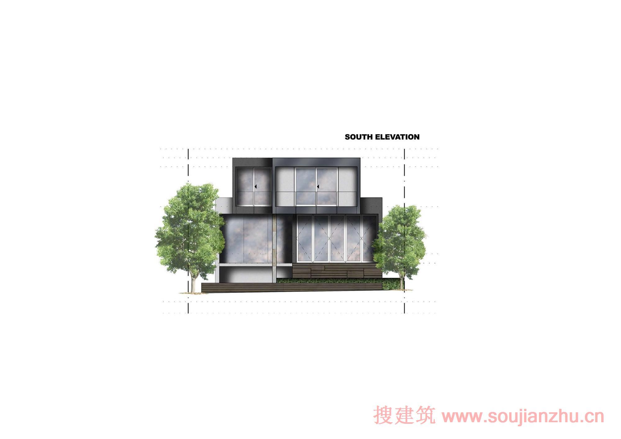 澳大利亚·盒子别墅---zouk architects