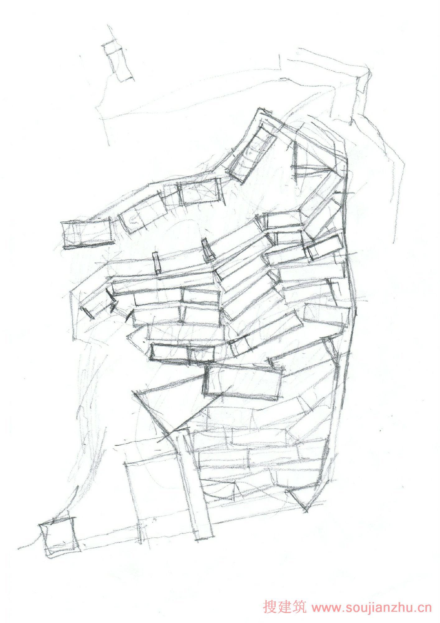 户型 户型图 简笔画 平面图 手绘 线稿 1414_2000 竖版 竖屏