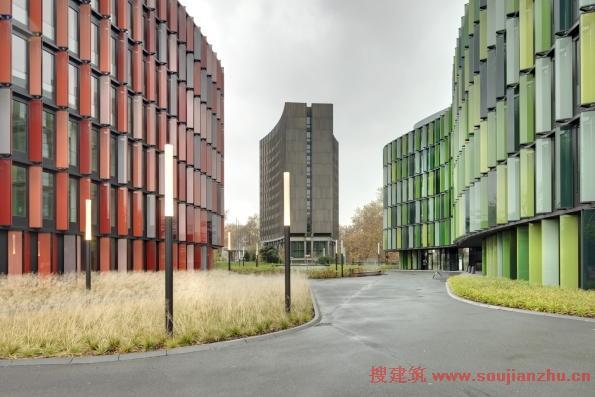 搜建筑网 -- 德国·cologne椭圆形办公室--- hutton