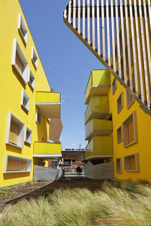 2013建筑面积规范_搜建筑网 -- 法国·折纸住宅---Agence Bernard Bühler