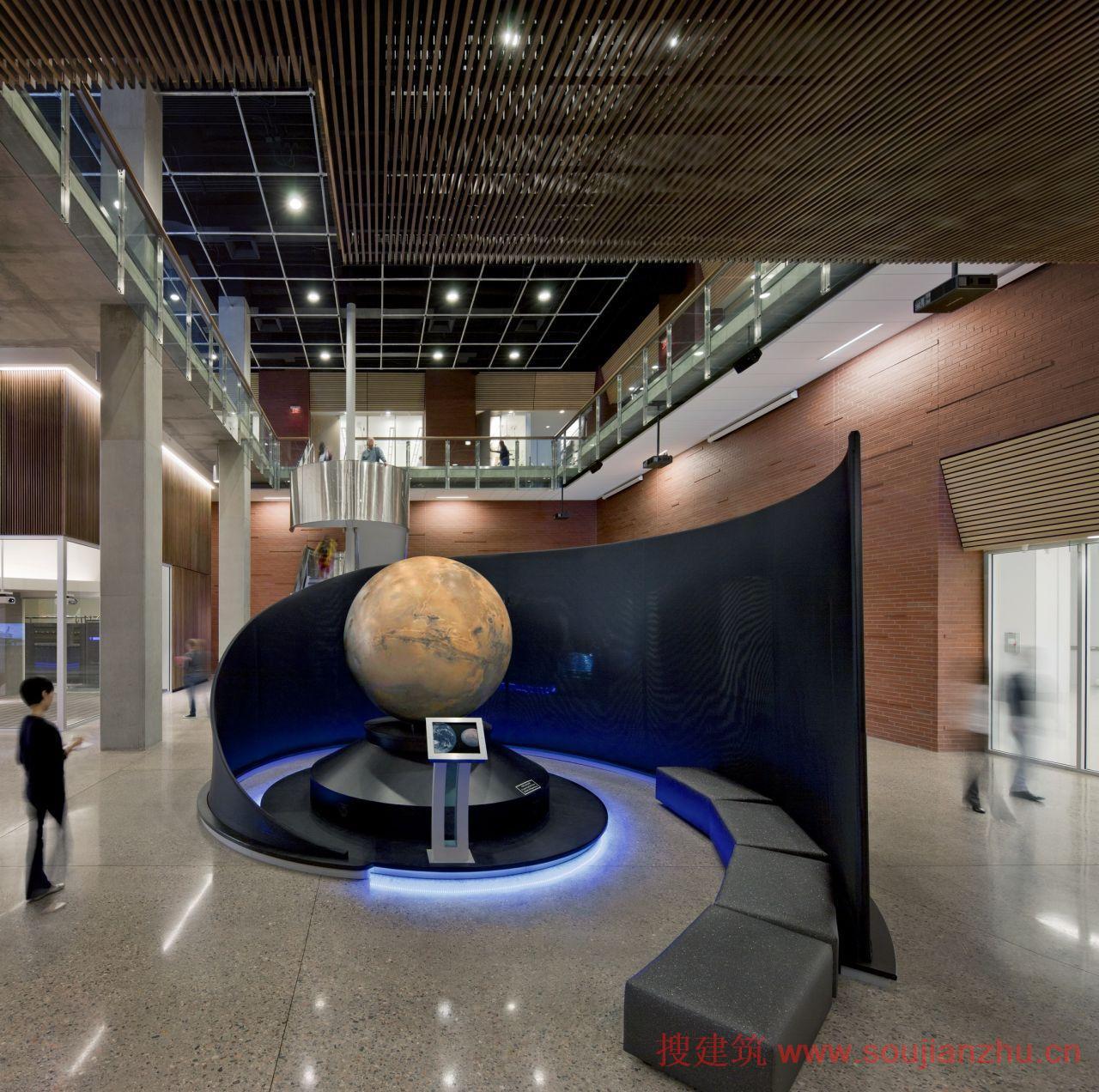 2013建筑面积规范_搜建筑网 -- 美国·地球与太空探索学校---- Ehrlich Architects