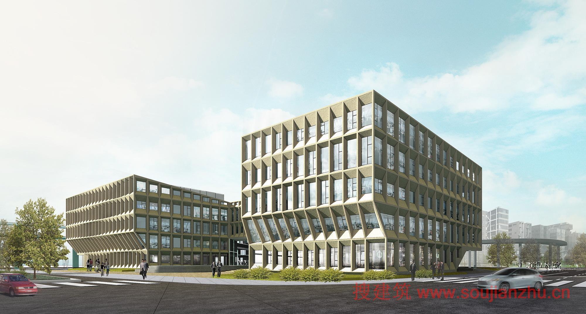 2013建筑面积规范_搜建筑网 -- 上海·虹桥商务区办公总部大楼---LYCS Architecture