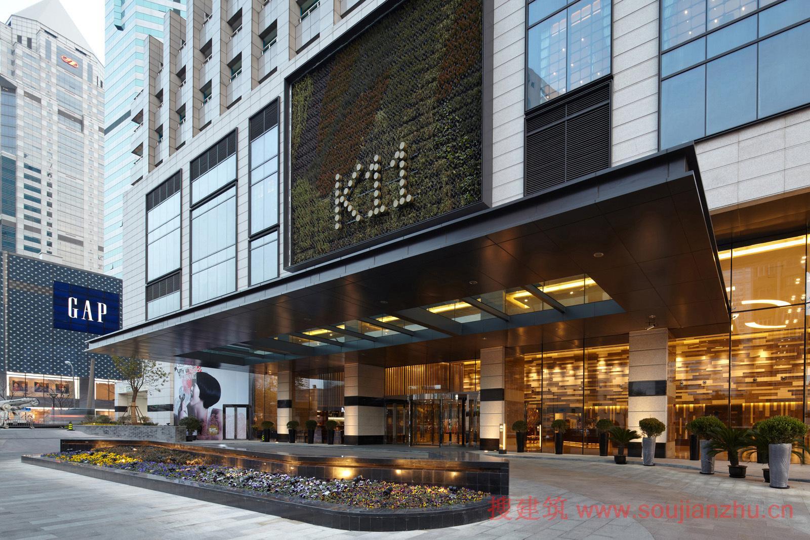挣钱网_搜建筑网 -- 上海·K11购物艺术中心---Kokaistudios