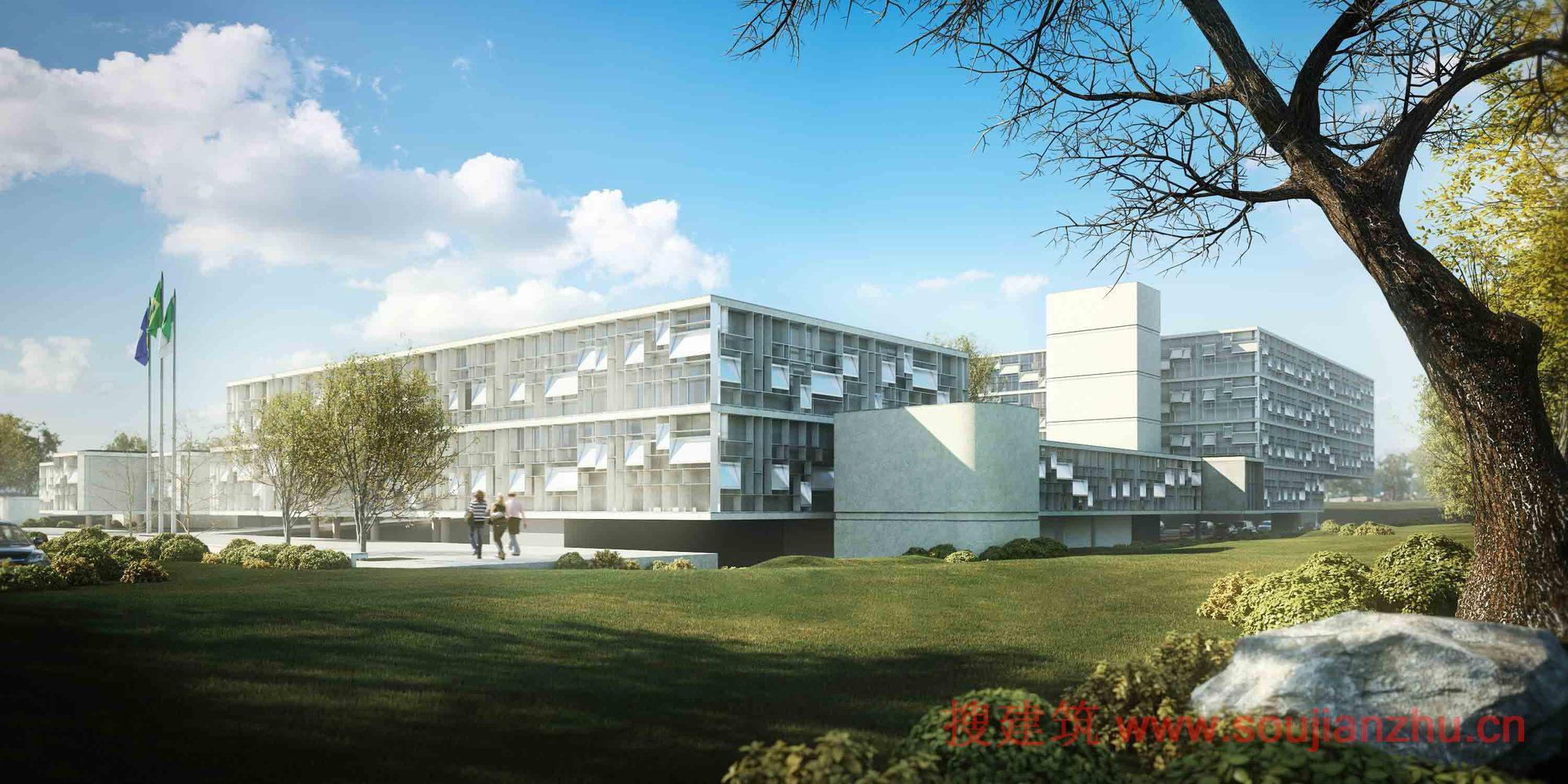 巴西·轻罪指控法院大楼方案设计---aba