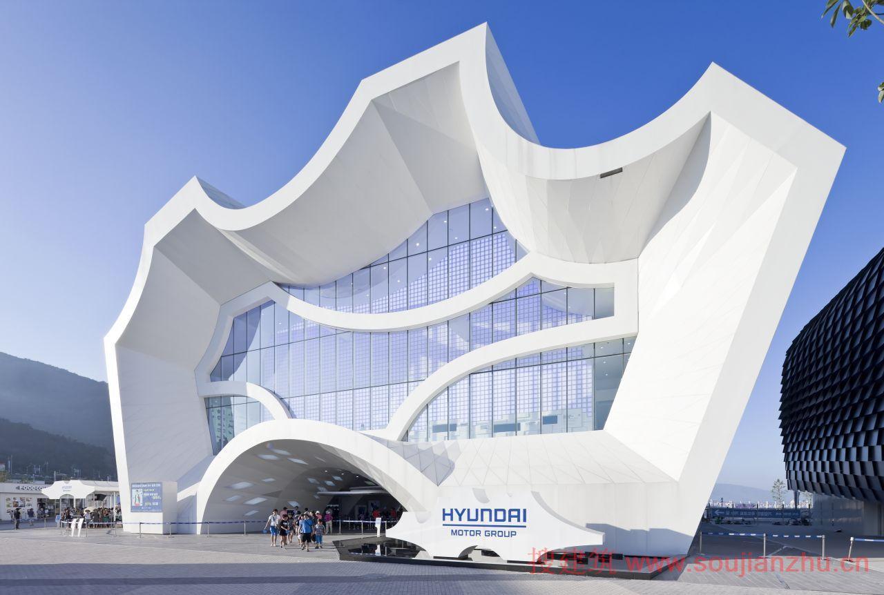 韩国·丽水世博会韩国现代汽车集团馆---unsangdong architects