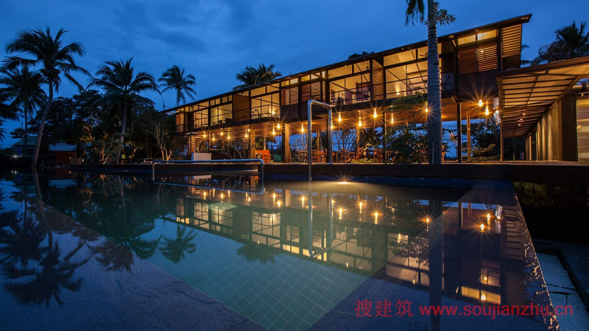 2013建筑面积规范_搜建筑网 -- 泰国·Baan Suan Mook度假酒店---SOOK Architects