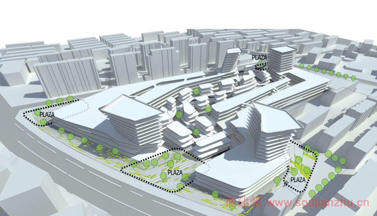 design architecture inc和深圳市建筑设计研究总院有限公司