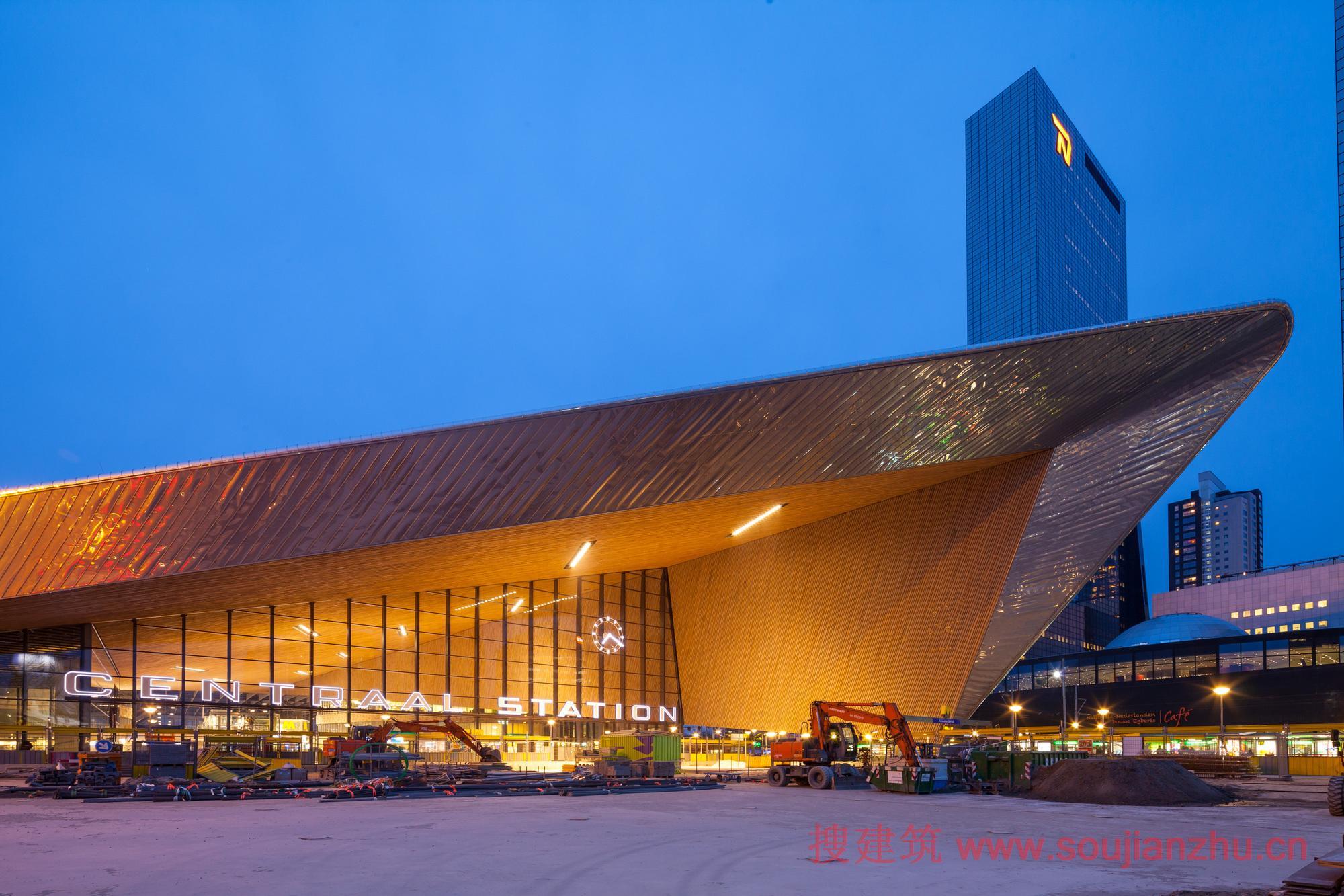 2013建筑面积规范_搜建筑网 -- 荷兰·鹿特丹中央火车站---Team CS