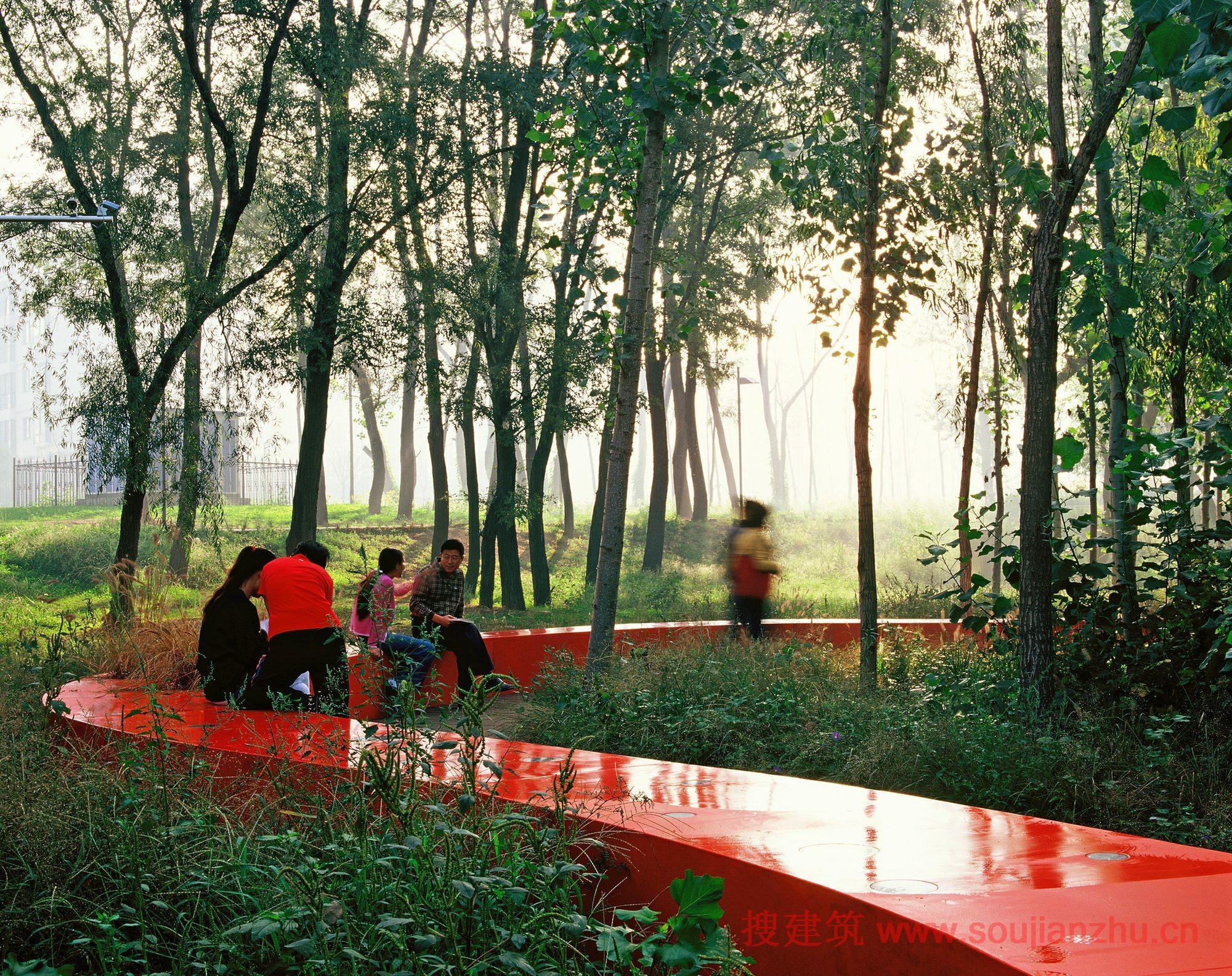 河北·秦皇岛红丝带公园---turenscape