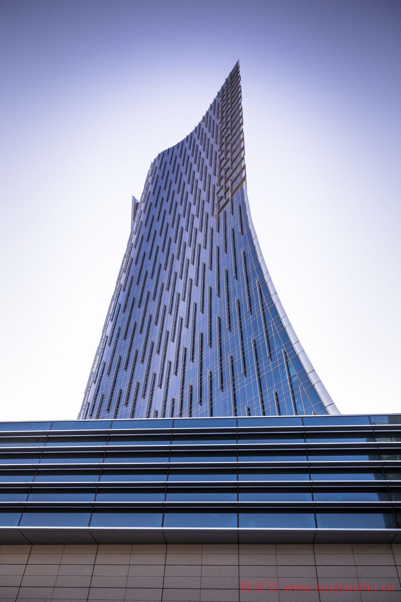 2013建筑面积规范_搜建筑网 -- 阿联酋·阿布扎比Rosewood大楼---Handel Architects