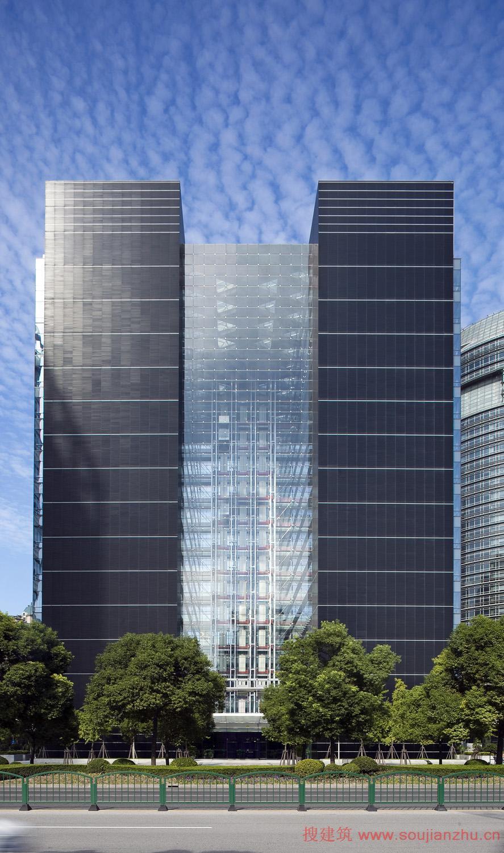 上海·中国钻石交易中心---美国gp建筑设计有限公司