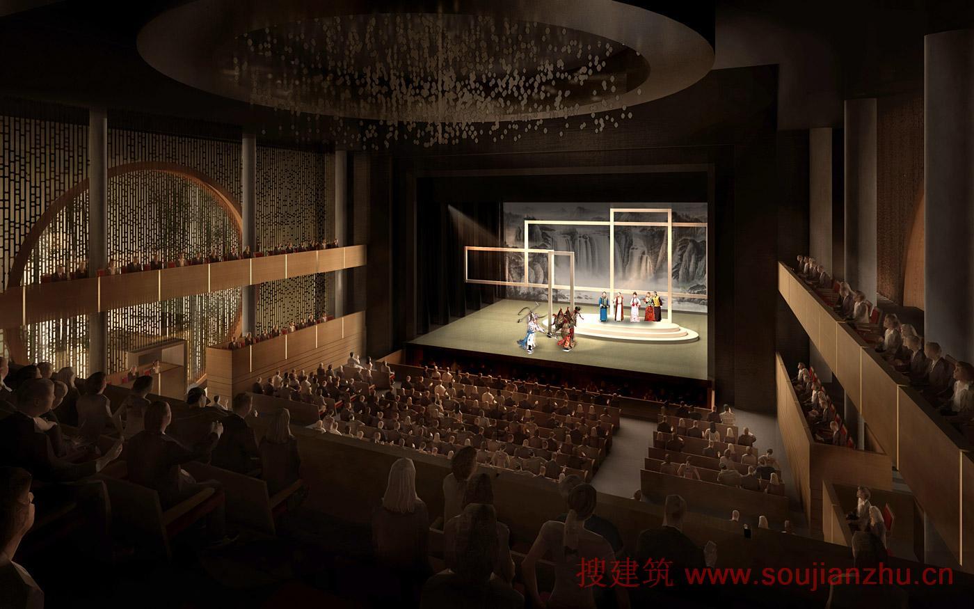 搜建筑网 香港 183 西九龙文化区戏曲中心 谭秉荣和吕元祥