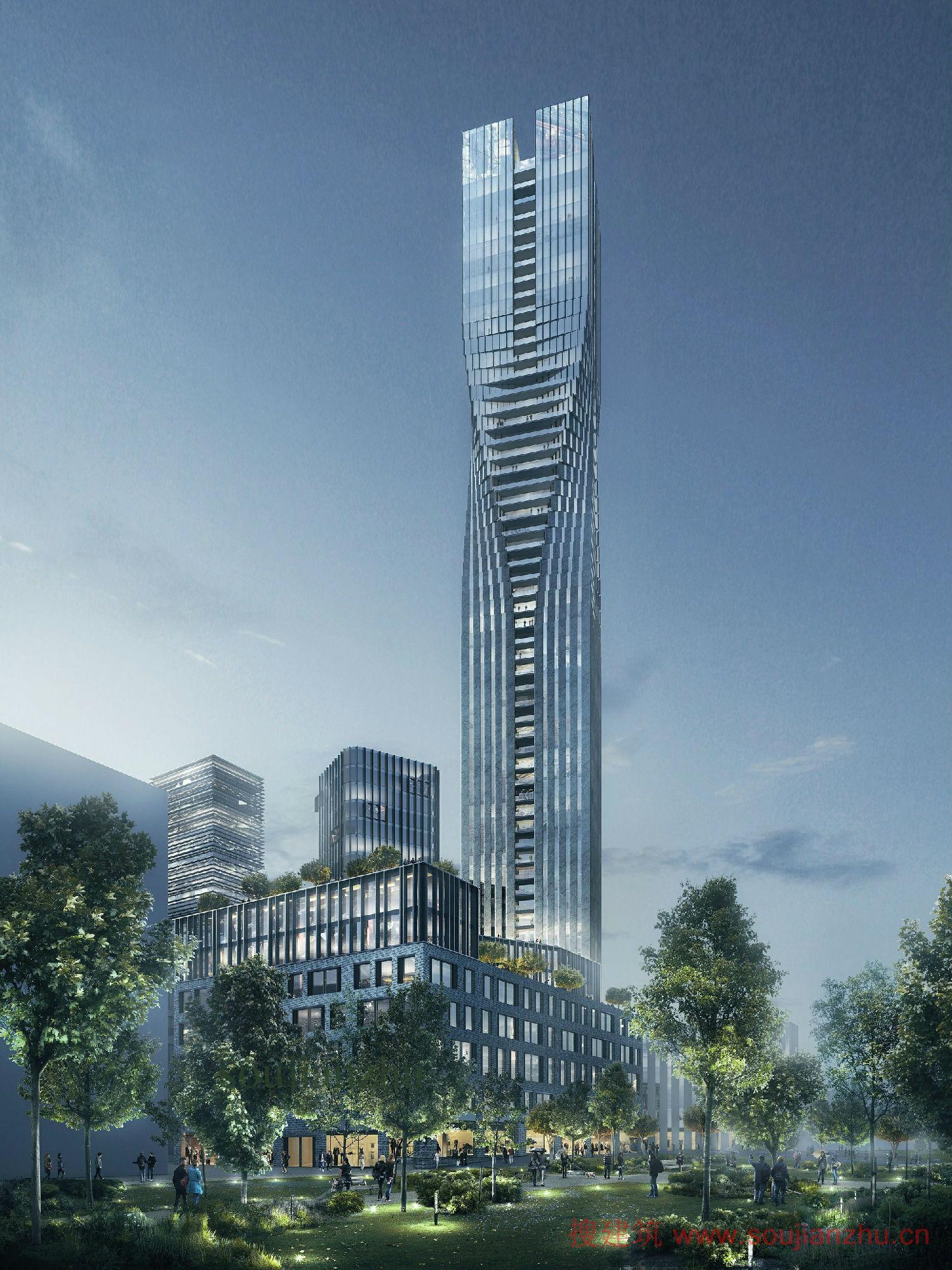 瑞典·第一高楼方案---som