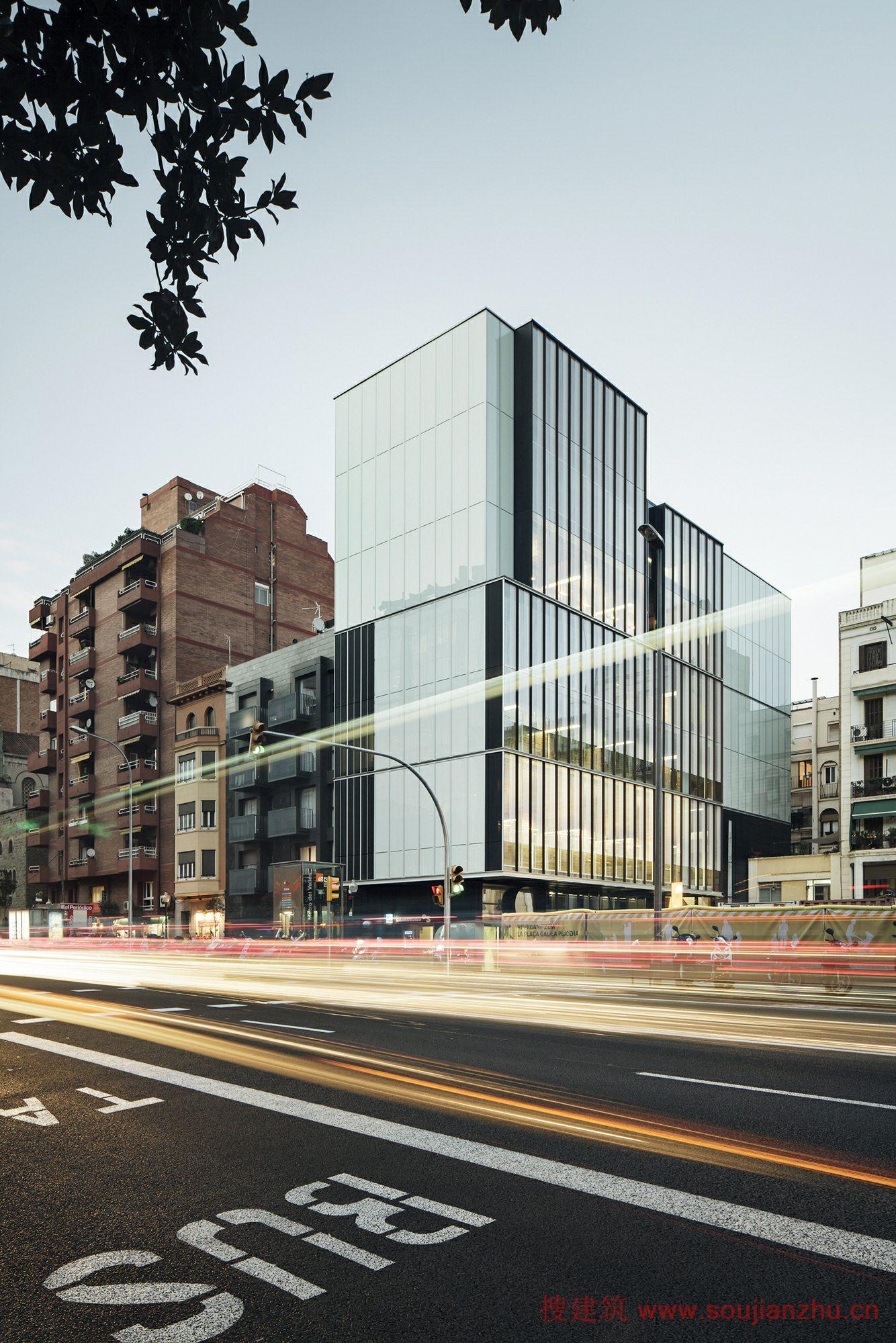 搜建筑网 西班牙 经济学研究所新总部 roldan berengue