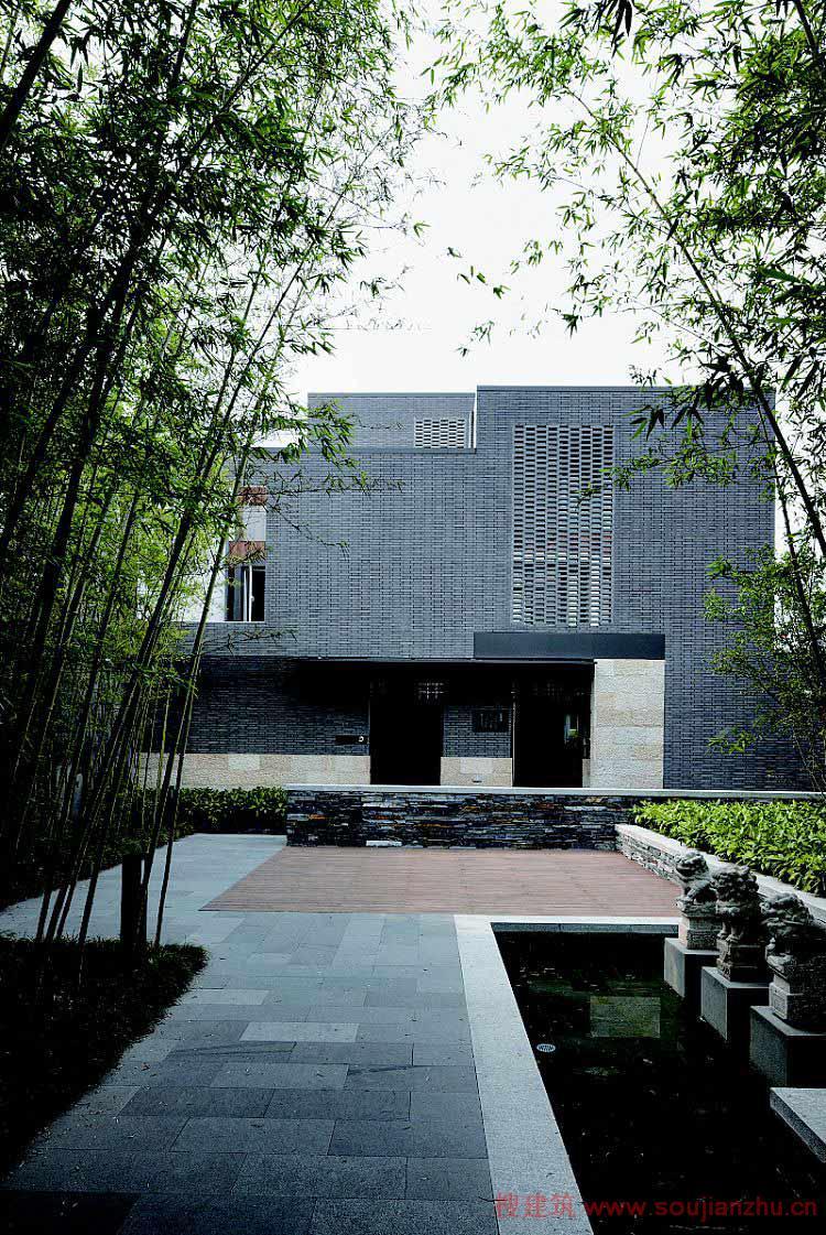上海·万科·第五园现代中式居住区园林景观设计