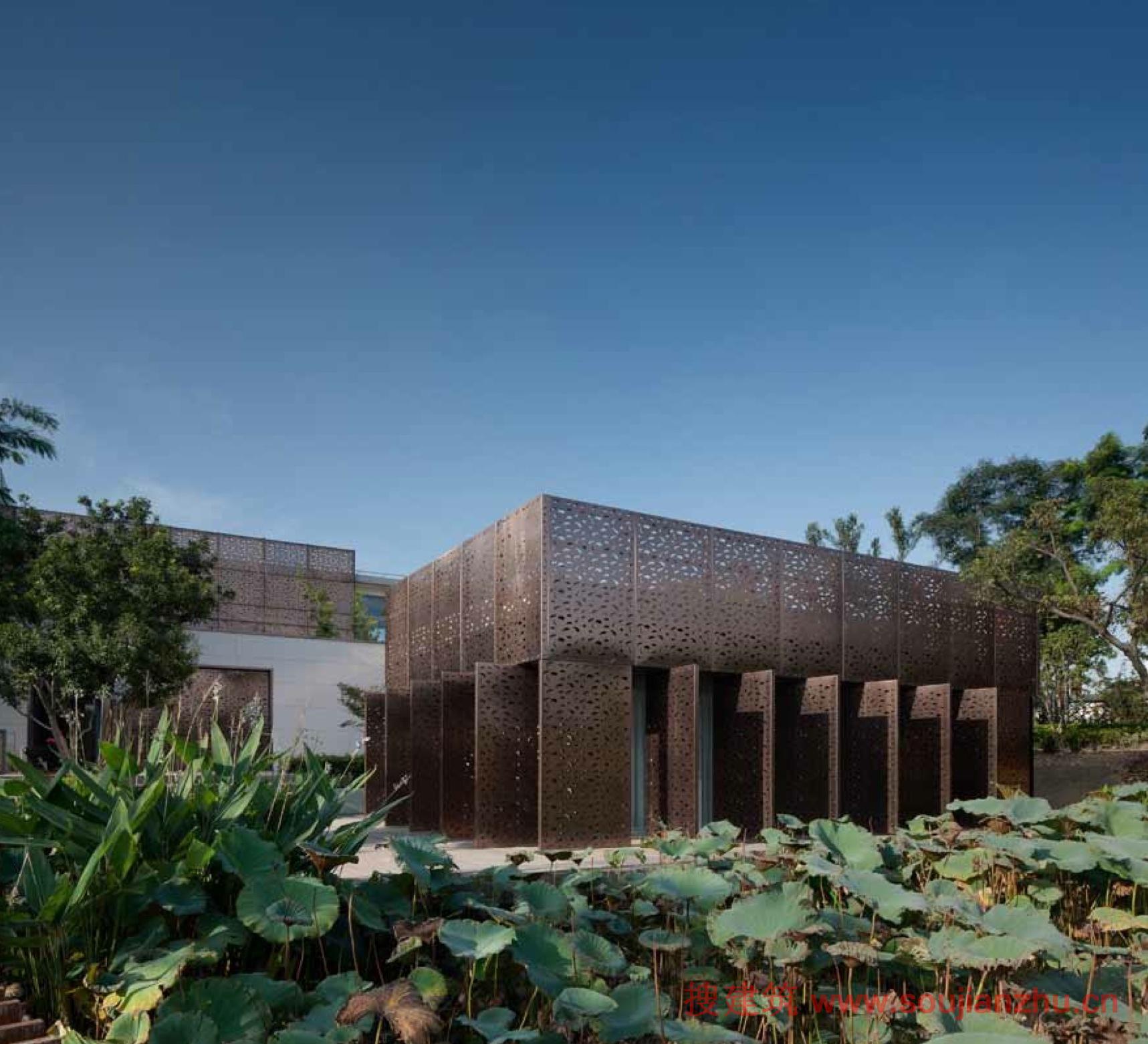 上海·陈家山公园茶餐厅改造---atelier liu yuyang architects