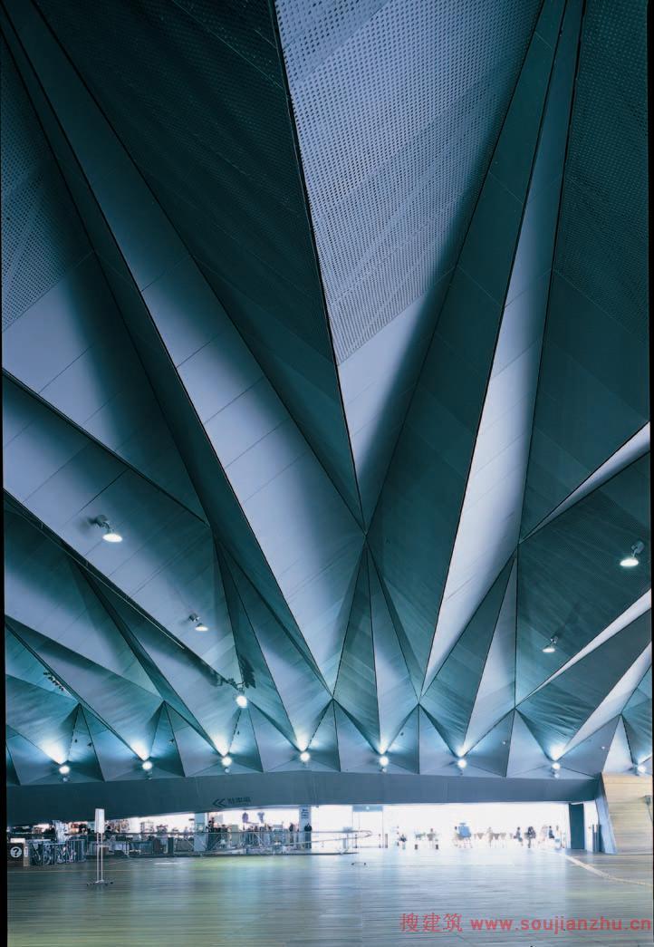 搜建筑网 日本 183 横滨国际码头 Foreign Office Architects Foa