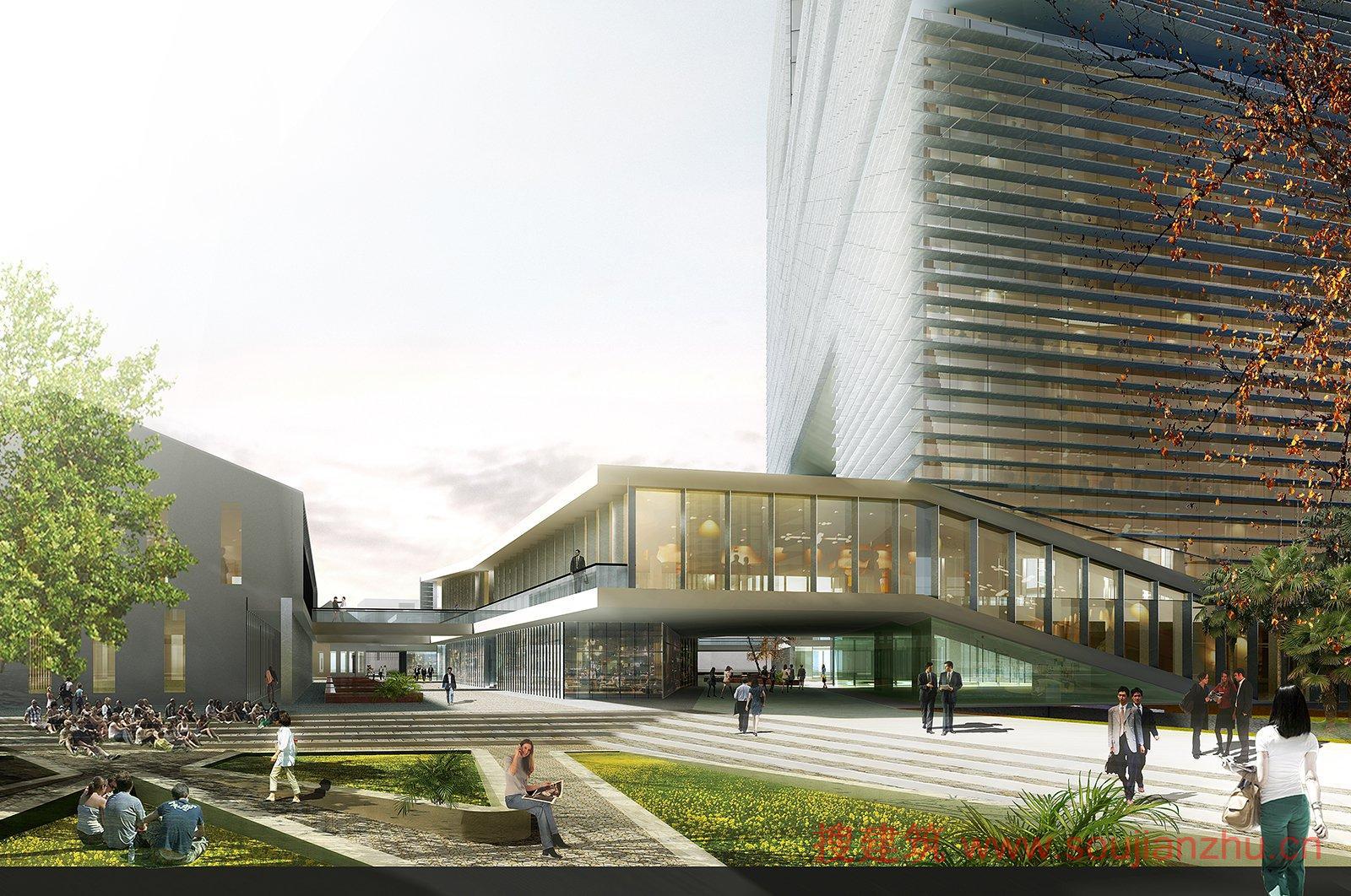 搜建筑网 -- 2015年国际设计竞赛首奖——浙江印刷