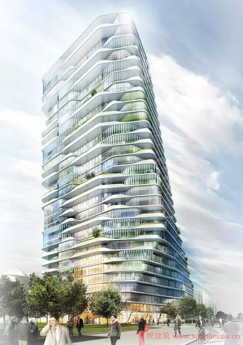保时捷住宅设计获奖作品,未来欧洲第一地标